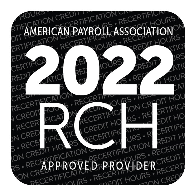 Approved by the American Payroll Association