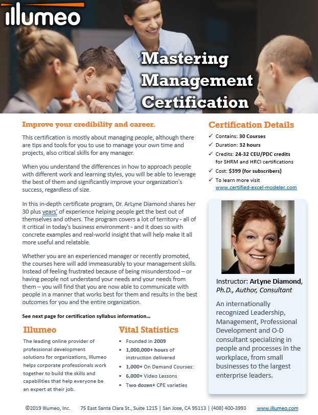 SOX Expert Certification Flyer