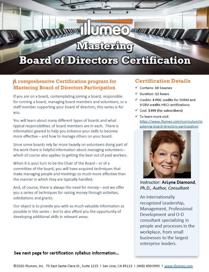 SOX Expert Certification Flyer