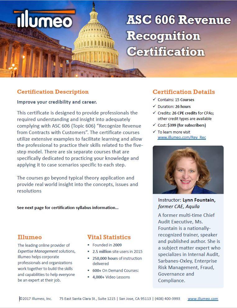 Ethics Expert Certification Flyer