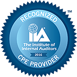 Seal: Recognized CPE Provider
