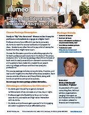 Business 101 Illumeo for Educators Flyer