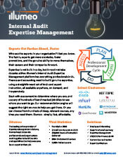 Internal Audit Expertise Management