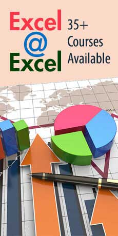 Excel @ Excel - 35+ Courses Available