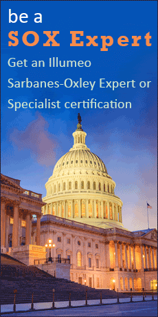 be a SOX Expert - Get an Illumeo Sarbanes-Oxley Expert or Specialist certification