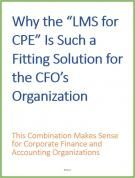 "Why the ""LMS for CPE"" Is Such a Fitting Solution for the CFO's Organization"