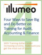 Four Ways to Save Big and Do Better on Training for Audit, Accounting & Finance