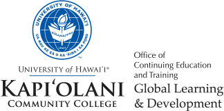 Kapi'olani Community College (KapCC)  Office of Continuing Education and Training
